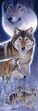 Jigsaw Puzzle Animal Wild Spirit Wolves 500 pieces NEW Made in the USA
