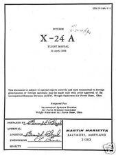 Northrop X-4 Bantam & Martin Marietta X-24A X-Plane Manuals Experimental NASA