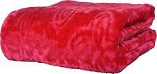 Ultra Soft Luxurious Embossed Very Warm Korean Mink Blanket Single Bed