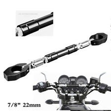 "7/8"" 22mm Motorcycle Handlebar Cross Bar Steering Wheel Adjustable Handle Bar"