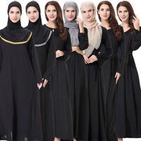Muslim Women Long Maxi Dress Arab Prayer Abaya Clothes Kaftan Islamic Lot