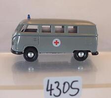 Brekina 1/87 Volkswagen Bulli VW T1a Bus DRK Deutsches Rotes Kreuz #4305
