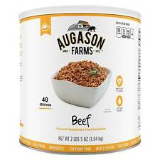 Augason Farms Beef Flavored Vegetarian Meat Substitute Emergency Food - 37oz