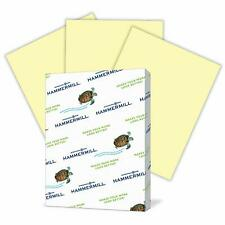 Hammermill Colored Paper Canary Printer Paper 20lb 85x11 500 Letter Size