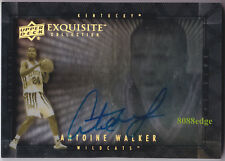 2013-14 EXQUISITE DIMENSIONS AUTO: ANTOINE WALKER #D-AW SHADOW BOX AUTOGRAPH