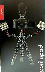 Joby Gorillapod 5K Kit with Rig Upgrade. NEW-OPEN BOX.