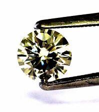 GIA Certified 1.09ct VVS1 S-T round diamond 6.75-6.78x3.98mm vintage estate