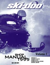 Ski-Doo service shop manual 1999 SKANDIC 380 & 500