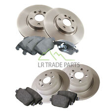 LAND ROVER FREELANDER 2, 2.2 TD4 FULL FRONT & REAR BRAKE DISCS OEM PADS KIT SET