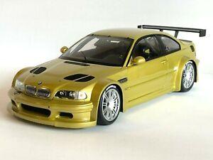 1:18 Minichamps BMW Dealer Edition E46 M3 GTR Street Version in Phoenix Yellow