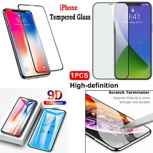 TEMPERED GLASS Screen Protector For iPhone XR,XS,11 Pro MAX,12 MINI PRO MAX GM