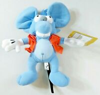 Itchy - 10in. Stuffed/Plush Blue Rat/Mouse - The Simpsons/Toy Factory