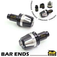 Titanium MOIRE Handle Bar Ends For Suzuki Burgman 250//400//650 Skywave