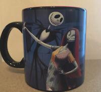 Nightmare Before Christmas Jack and Sally 20oz Oversized Coffee Mug Disney * NEW