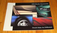 Original 1994 Honda Accessories Sales Brochure Del Sol Civic Accord Prelude