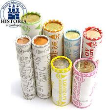 Rollenpaket Finnland 111 Euro 2005 bfr. 1 Cent bis 2 Euro Münzen in 8 Rollen