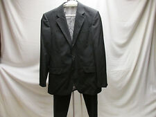 Hugo Boss Men's 2 Piece Pinstripe Suit 40US Made in Turkey Originally over $1200