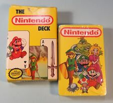 1989 Nintendo Deck Playing Cards Super Mario Bros. Zelda still Sealed Nes era