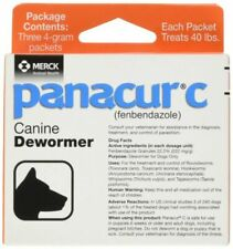 Panacur C Canine 4g Dewormer - Pack of 3