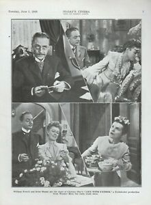 Film Trade Pages (2) Life With Father 1948 Warner William Powell Irene Dunne