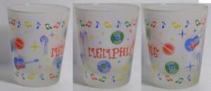 Memphis Music Attractions Shot Glass #3674