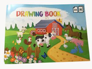 MALHEFT MALBUCH Für Kinder A4 80 Blatt Papier Alle Altersklassen Kids Creative