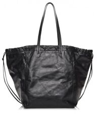 Celine Black Calfskin Large Coulisse Cabas Bag New With Tags