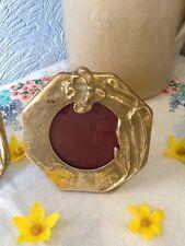 Elegant Art Nouveau Style Brass Picture Frame- 2 Available #2656