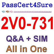 VMware Cloud Management and Automation VCP7-CMA 2V0-731 Exam Q&A PDF+SIM