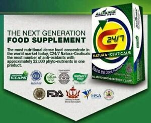 1 Box C24/7 Natura-Ceuticals Food supplements by Nature's way USA (30 Vcaps)