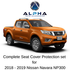 2018-20 Navara NP300 Neoprene Seat Covers (Front & Rear) for D23 Series 3