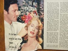 Mar-1957 TV Guide(SCOTT FORBES/LILY  PONS/JOSEPH COTTEN/PAT BOONE/GREER  GARSON)