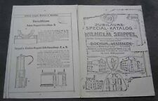 Kopie Katalog Wilhelm Seippel Bochum 1908 Grubenlampe