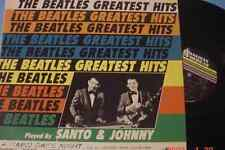 "SANTO & JOHNNY~""BEATLES GREATEST HITS""~ORIGINAL 1962 U.S. SCALP-1017 ""EX"" -LP"