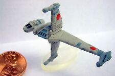 Star Wars Micro Machines B-WING FIGHTER with stand