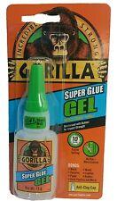 Gorilla saber Super Glue Gel 15g adhesivo para plástico de Metal Zapato de cristal de papel