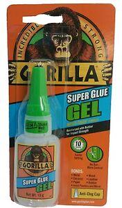 Gorilla Gorila Super Glue Gel 15g Adhesive For Metal Plastic Paper Glass Shoe