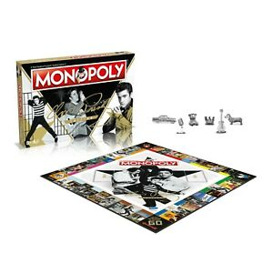 Elvis Presley Edition Monopoly Board Game * BRAND NEW, BOXED, FAST UK DISPATCH*