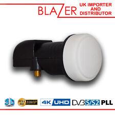 Blazer X1 PLL Single Universal 0.1db LNB 3D 1080p HD Digital TV Satellite Dish
