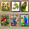 Parrot 5D Diamond Painting DIY Embroidery Cross Stitch Home Decor Needlework Art