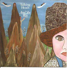 """TALKING HEADS - And She Was (ps) 7"""""""