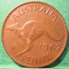 1962 Australia 1d One Penny ** HIGH GRADE ** #2035 =LUSTRE=