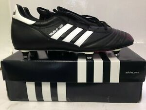 Size 12 UK Mens Black Adidas Performance Football Boots World Cup Sporting #898