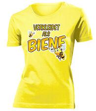 Karnevalskostüm -VERKLEIDET ALS BIENE T-Shirt Damen S-XXL