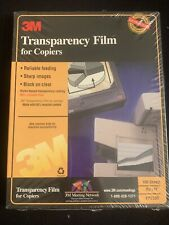 3M Transparency Film for Copiers NEW & SEALED