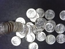 1946-P GEM BU ROOSEVELT DIME ROLL - 90% SILVER - SHIPS FOR FREE IN USA