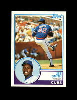 1983 Topps Baseball #699 Lee Smith (Cubs) NM+