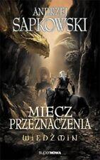 Wiedzmin. Tom 2 Miecz przeznaczenia, Andrzej Sapkowski, polish book