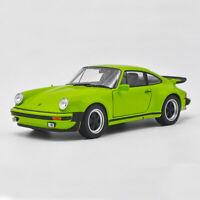 1:24 Porsche 911 Turbo 3.0 1974 Model Car Diecast Toy Kids Collection Green