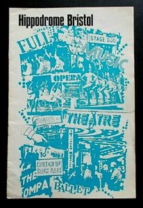 The Marquise programme Bristol Hippodrome Theatre 1972 Glynis Johns Richard Todd
